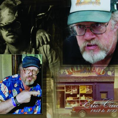 Hollywood film memorabilia collector Eric Caidin