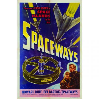 Spaceways poster from the Eric Caidin collection