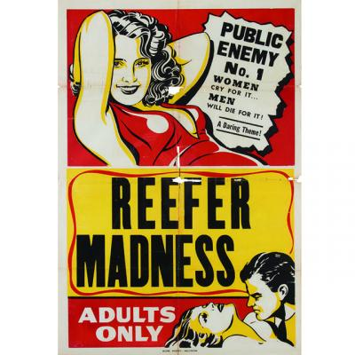 Reefer Madness poster from the Eric Caidin collection