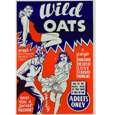 Wild Oats poster from the Eric Caidin collection