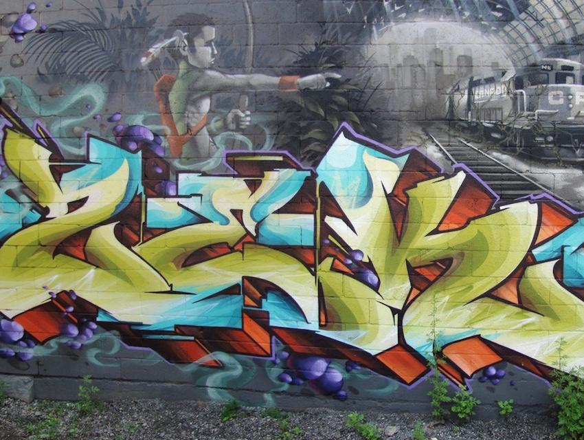 Mural by zek.one