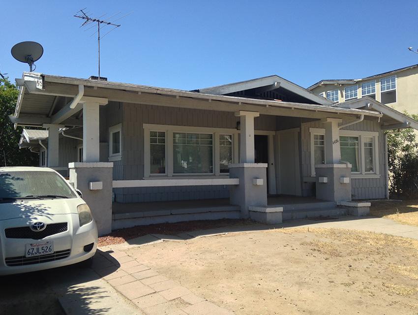 THE FIRST PLACE WALT DISNEY CALLED HOME IN LOS ANGELES, 4406 KINGSWELL AVENUE IN LOS FELIZ.