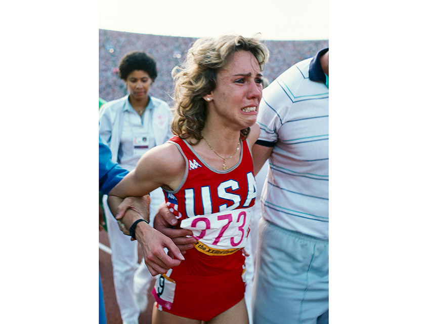 Crawford was at the Coliseum in 1984 when Mary Decker collided with Zola Budd and fell in the 3000 meters
