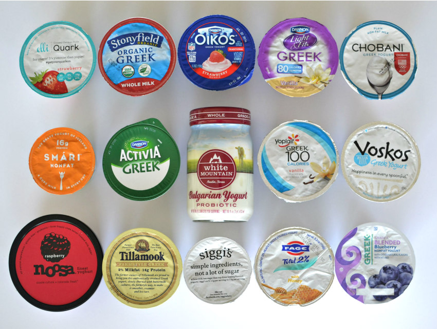 we ranked the top 14 brands of greek yogurt just because los