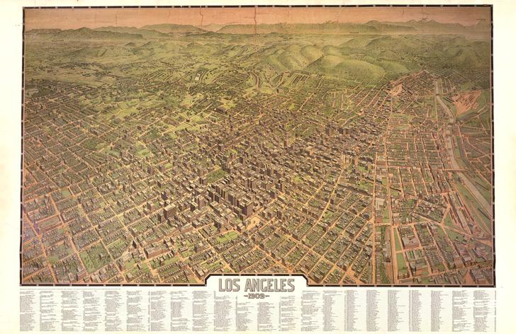 Los Angeles, 1909, Francis Lawrence, Editor Worthington Gates, Birdseye View Publishing Company