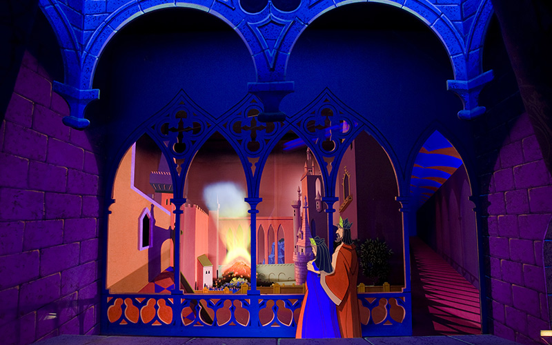 The Restored Sleeping Beauty Walkthrough Inside Castle At Disneyland