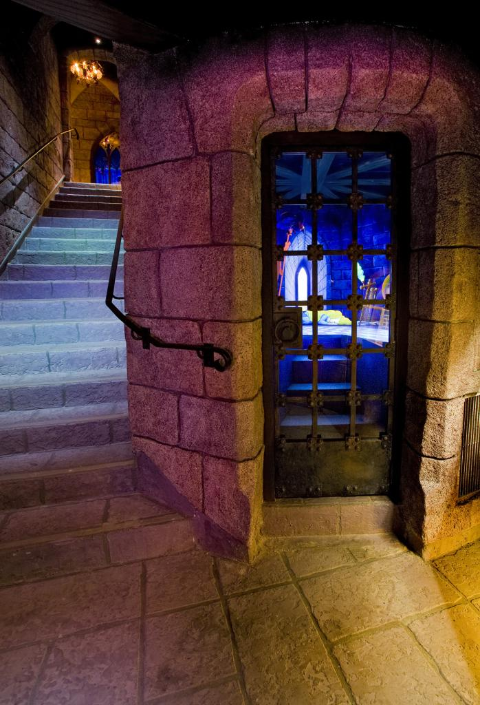 Inside the iconic Sleeping Beauty Castle in Disneyland