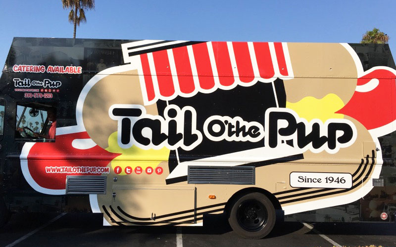 The new Tail O'the Pup food truck