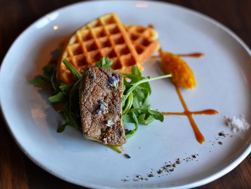 Foie n' Waffles at Westbound