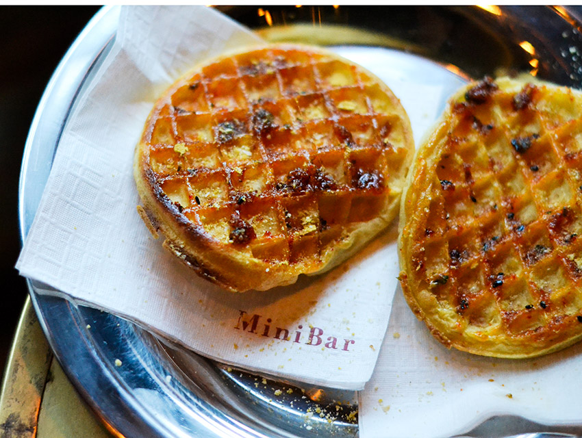 MiniBar's Tokyo Waffle