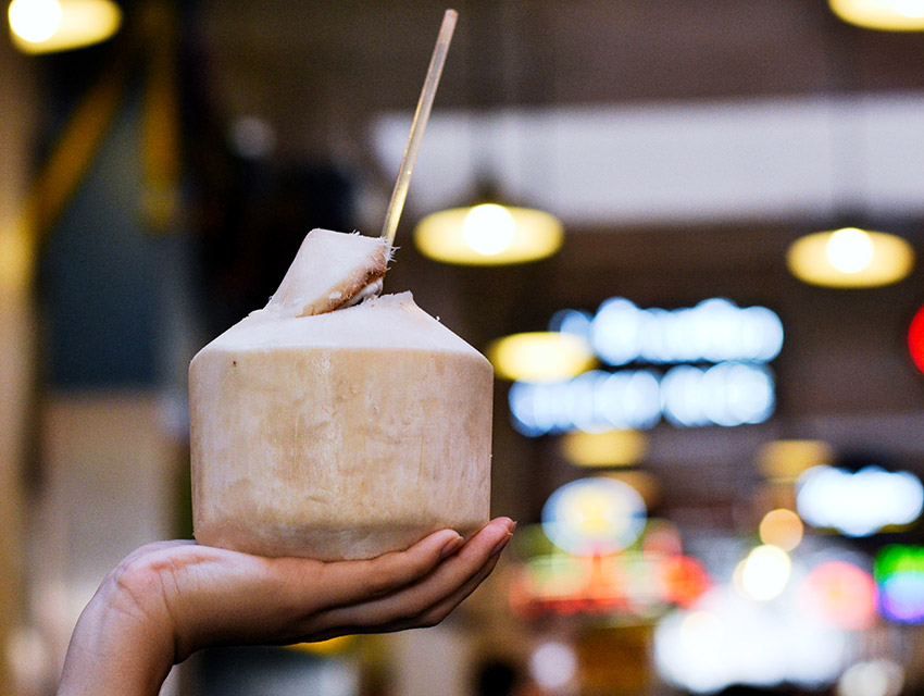 Sticky Rice fresh coconut