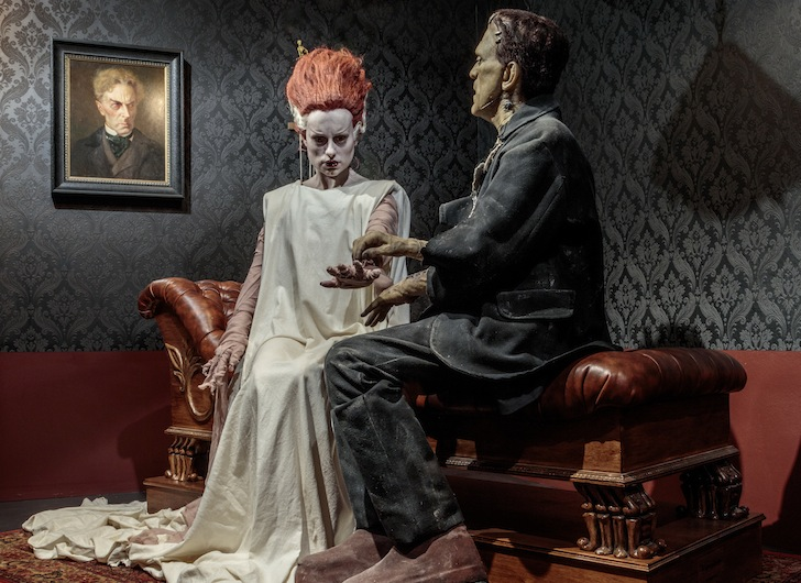Installation photograph, Guillermo del Toro: At Home with Monsters, Los Angeles County Museum of Art, August 1–November 27, 2016