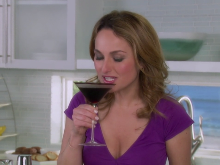 How Giada does espresso martinis.
