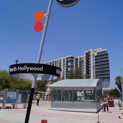 New signage in NoHo