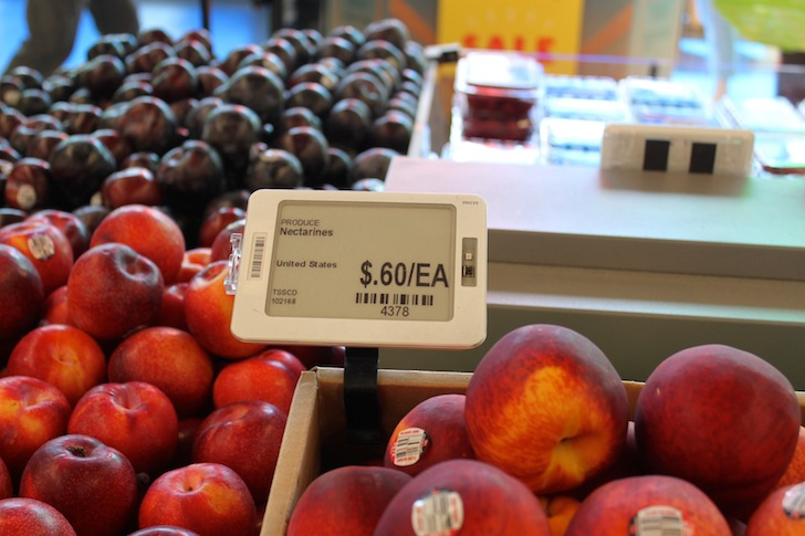 There's no surprises in this produce aisle