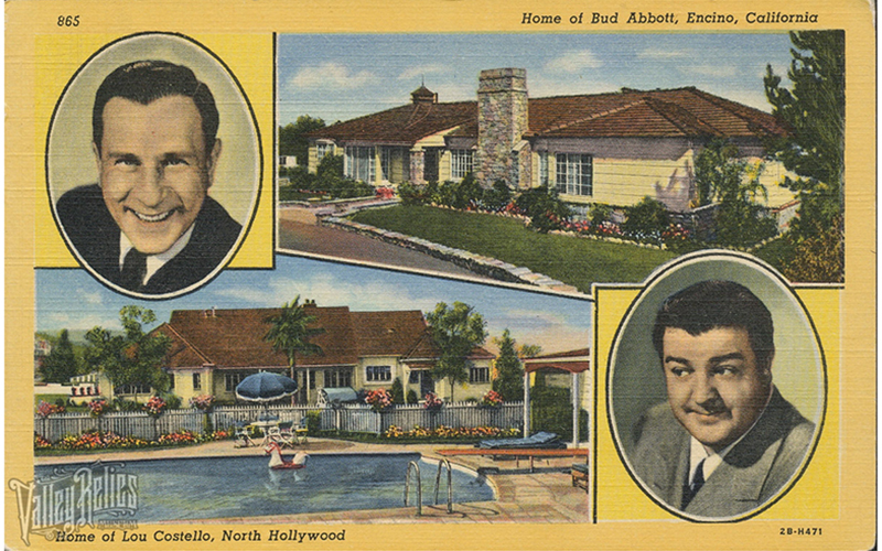 Homes of Bud Abbott, Home of Lou Costello