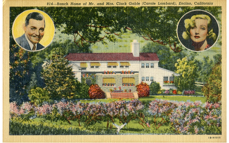 Home of Clark Gable and Carole Lombard