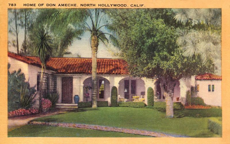 Home of Don Ameche