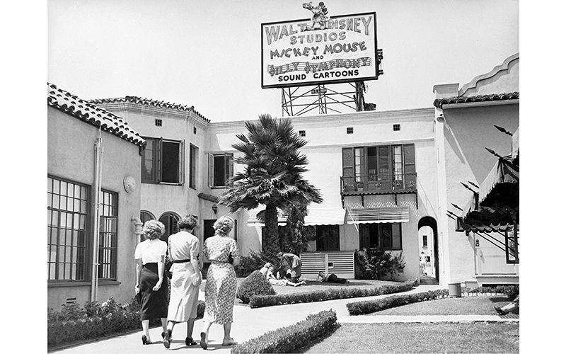 The Walt Disney Studios on Hyperion in Silver Lake, 1937