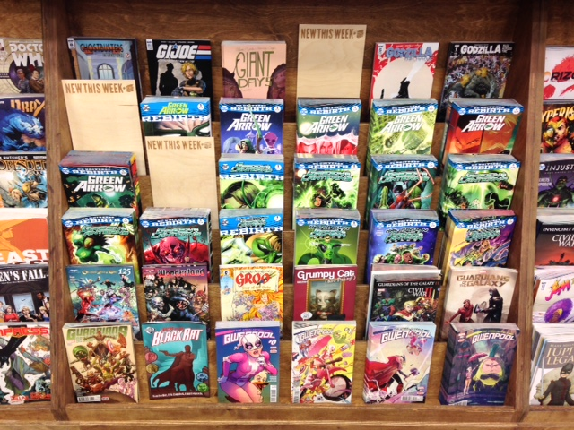 Get the new comics early or miss out