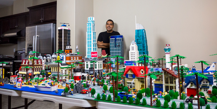 This Massive Lego Version Of Los Angeles Is Insanity Los