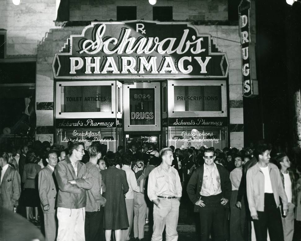 Schwab's Pharmacy in Hollywood