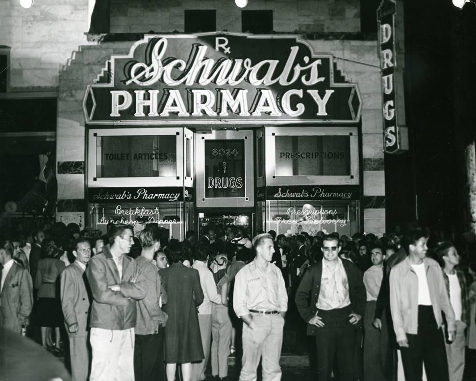 Schwab's Pharmacy in Hollywood