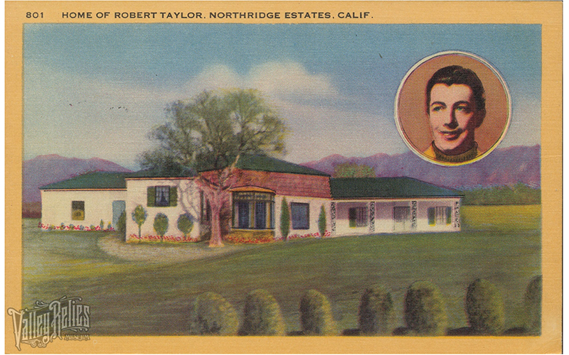 Home of Robert Taylor and Barbara Stanwyck