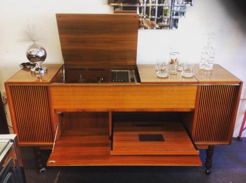 Grunig Stereo Cabinet at Hernandez Furniture