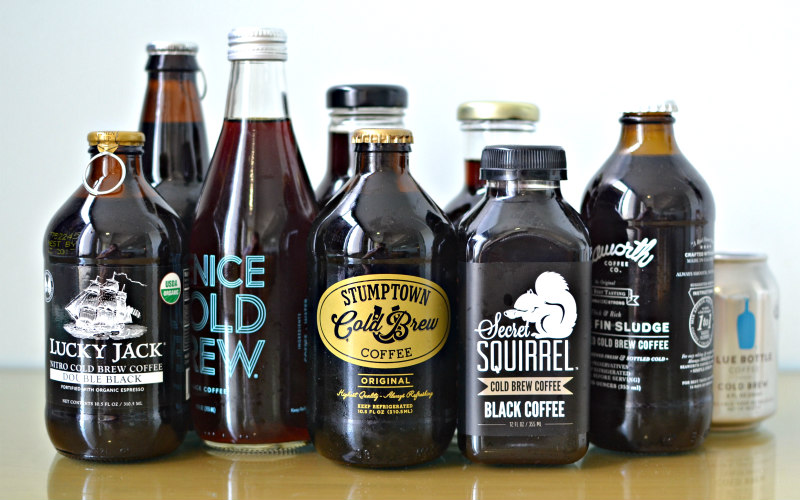 We Ranked The Top 9 Brands Of Bottled Cold Brew Just