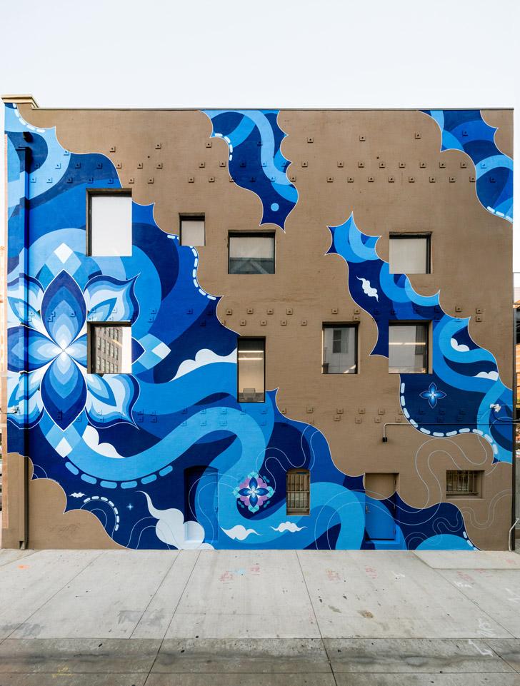 Kami + Sasu's Hitotzuki mural