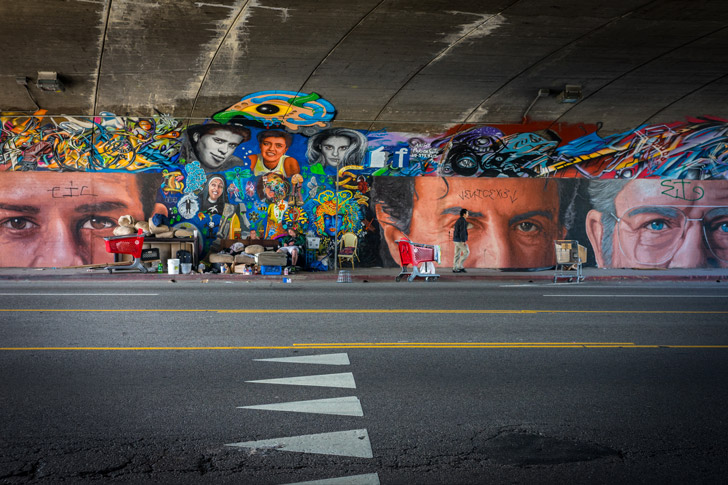 Ruben Soto's Eyes mural