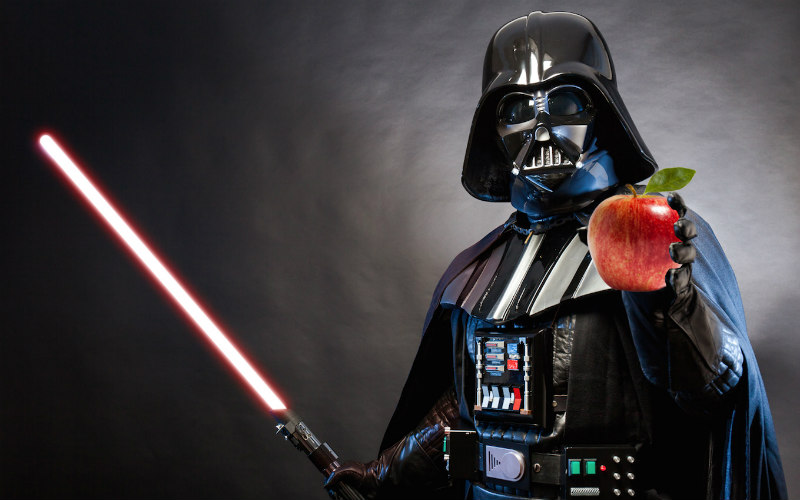 If you want to master the dark side of the force, you need to fuel your body right