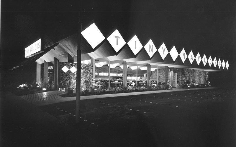 Tiny Naylors, Beverly Hills, 1961
