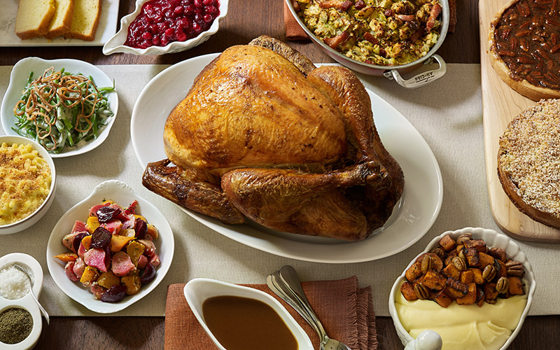 Thanksgiving feast at Bouchon