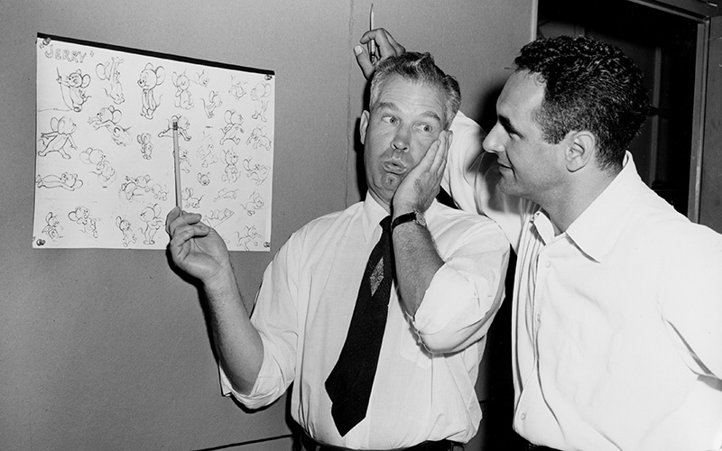 William Hanna and Joseph Barbera, 1950s