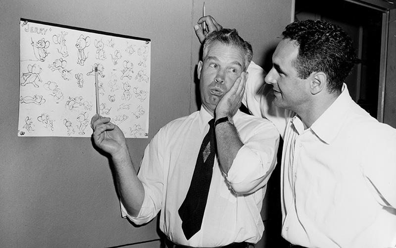 William Hanna and Joseph Barbera, 1950s