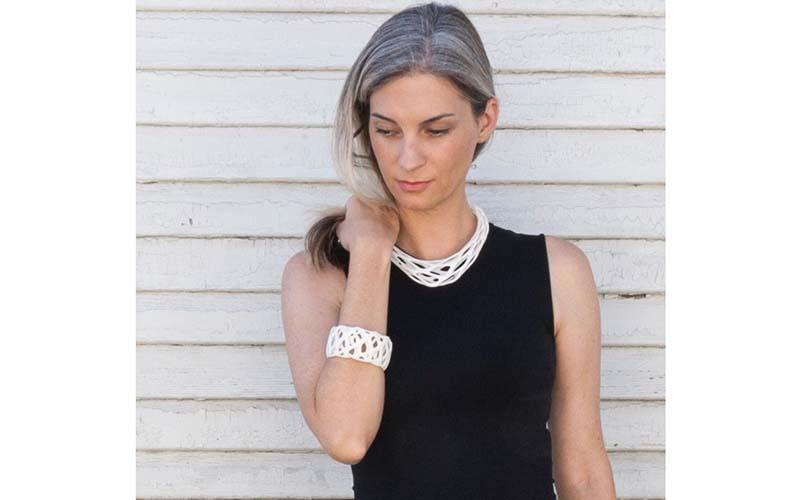 X Over Zero Necklace and Bracelet Set