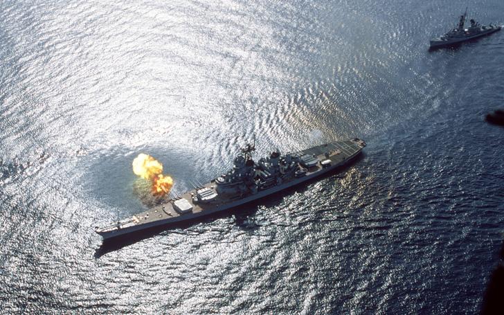 The Battleship USS Iowa Is Hosting an Unusual Sleepover for