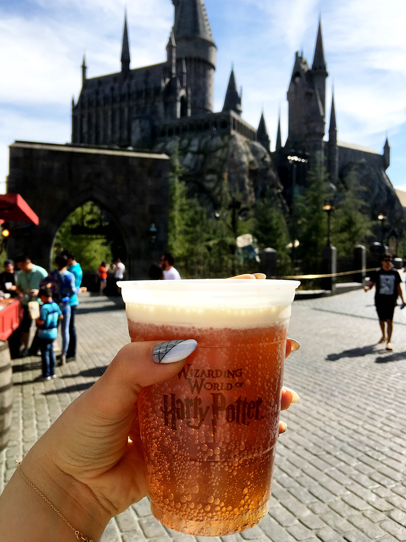 The fizzy version of butterbeer is still available, too, so don't get your wand in a knot.