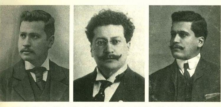 Jésus, Ricardo, and Enrique Magón