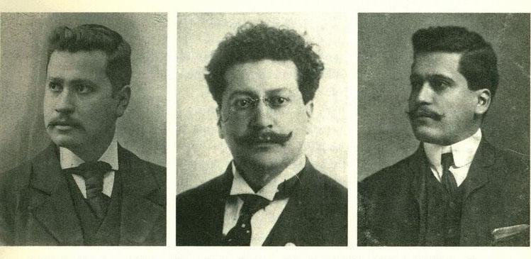 Jésus, Ricardo, and Enrique Magón