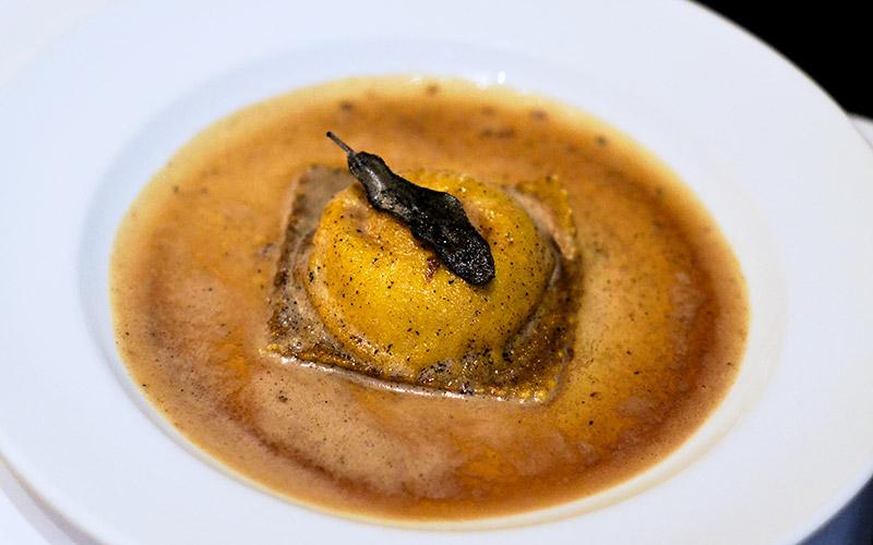 Ravioli Mozza at Osteria Mozza