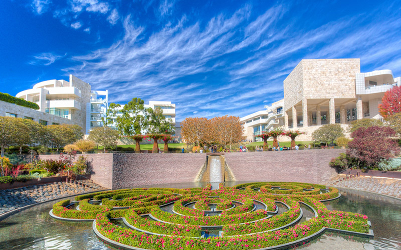 The Central Garden at The Getty