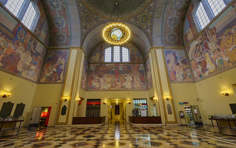 The Rotunda at the L.A. Central Library