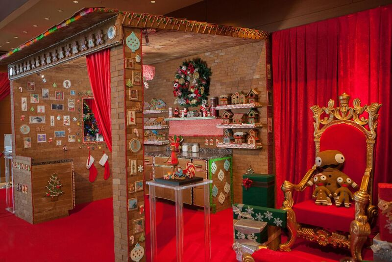 Mrs. Claus' Gingerbread Kitchen at the JW Marriott, L.A. Live