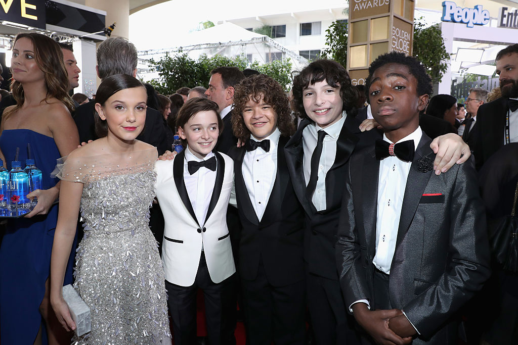 Millie Bobby Brown and the rest of the cast of Stranger Things