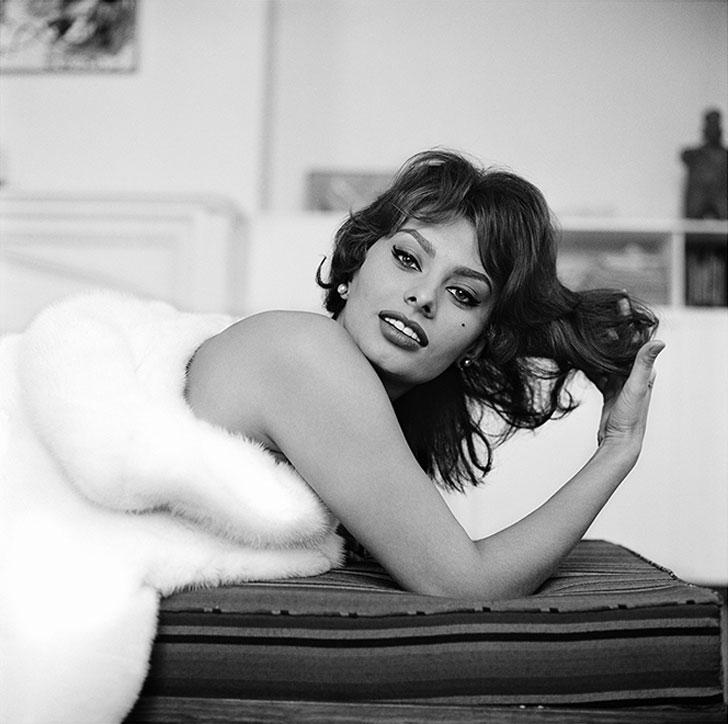 Sophia Loren, New York City, NY 1959