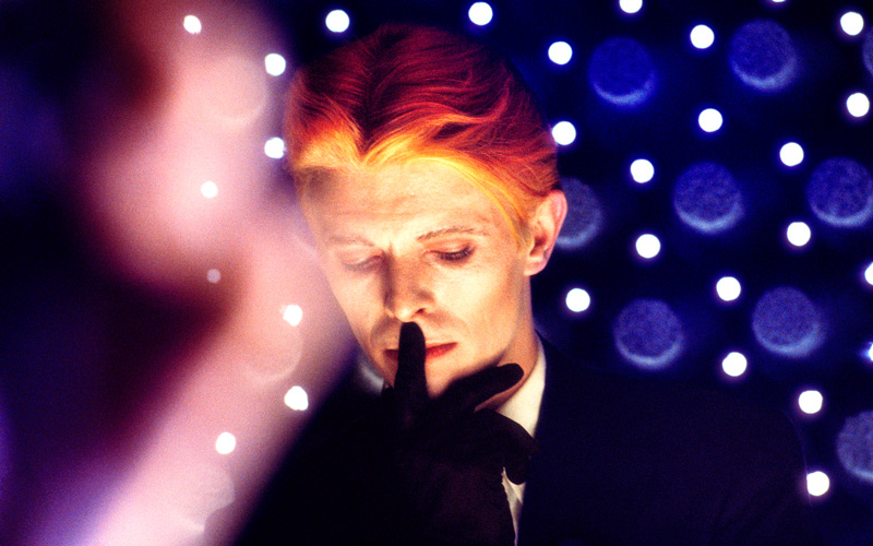 """David Bowie, """"The Man Who Fell To Earth"""", New Mexico, 1975"""