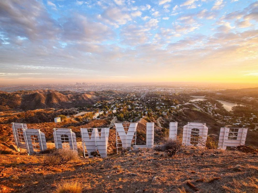 these stunning images of the hollywood sign will fill you with l a
